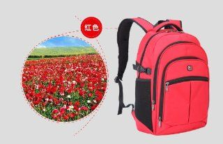 AmericanShiled Bala colorful series Laptops backpack.Lightweight Slim Fashion design,waterproof.HOT sell computer notebook tablet,knapsack,rucksack bag for man woman travelling,camping,Hiking business and casual. waterproof ASBA216 RED S 1 Computers &