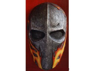 "Airsoft Wire Mesh Army Original Flames ""Elliot 40D"" Mask  Army Of Two Masks  Sports & Outdoors"