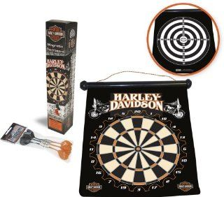 Harley Davidson� 66907 Hanging Magnetic Dartboard Sports & Outdoors