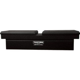 Lund/Tradesman 6451RH 70 Inch 22 Gauge Steel Gull Wing Cross Bed Truck Tool Box, Armor X Coating, Black Automotive