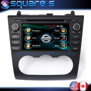 2007 08 09 10 11 12 Nissan Altima In dash Navigation DVD GPS Radio AV Receiver CD SD USB  Deck iPod/iPhone ready Bluetooth Hands free A2DP Music Streaming Touch Screen Steering wheel controls Multimedia stereo w/ rear view camera option SQUARE S SS 4023