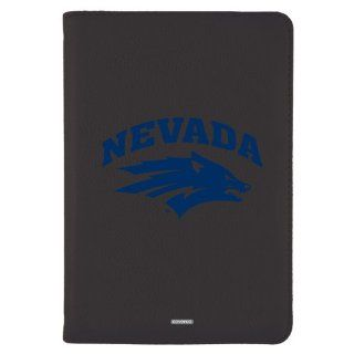 Coveroo Swivel Stand Leather Folio Case with Stand for iPad mini, University of Nevada Reno Primary Logo, Black (603 6145 BK HC) Computers & Accessories