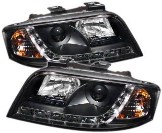 Spyder Auto PRO YD ADA601 DRL BK Audi A6 Black DRL LED Projector Headlight Automotive