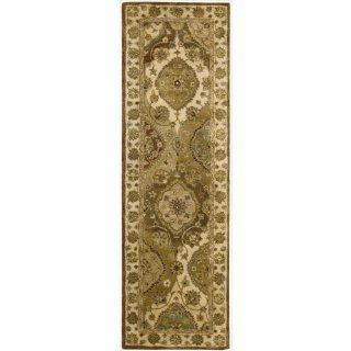 Nourison JA26 Jaipur Rectangle Hand Tufted Area Rug, 2.4 by 8 Feet, Multicolored