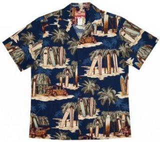Classic Surf Board Hawaiian Shirts   Mens Hawaiian Shirts   Aloha Shirt at  Men's Clothing store