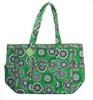 Vera Bradley Get Carried Away Tote Bag in Cupcakes Green Clothing