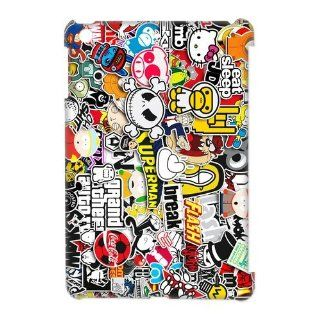 Sticker Bomb JDM Hard Case Cover Skin for iPad Mini 1 Pack  2  Perfect Gift for Christmas Cell Phones & Accessories