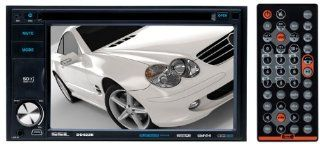 Sound Storm Laboratories DD622B Bluetooth Enabled In Dash Double DIN Multimedia Receiver (DVD//CD AM/FM) with 6.2 Inch Monitor (Discontinued by Manufacturer)  Vehicle Dvd Players