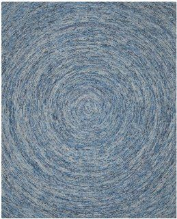 Safavieh IKT633A Ikat Collection Wool Area Rug, 8 Feet by 10 Feet, Dark Blue and Multicolor   Handmade Rugs