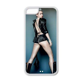 Custom Miley Cyrus Cover Case for iPhone 5C LC 636 Cell Phones & Accessories