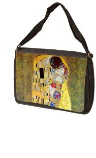 The Kiss By Gustav Klimt Laptop Bag   Shoulder Bag   Messenger Bag Computers & Accessories