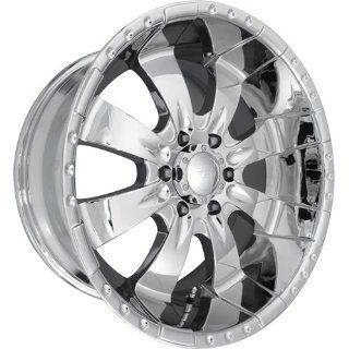 MST 654 17 Chrome Wheel / Rim 8x170 with a 15mm Offset and a 130.81 Hub Bore. Partnumber 654 78570 Automotive