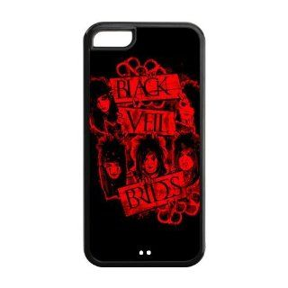 Iphone 5c Cases Nice Picture Black Veil Brides Band BVB 1316_05 Cell Phones & Accessories