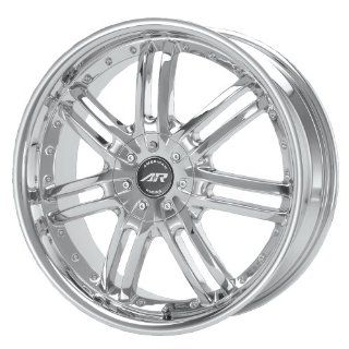 "American Racing Haze AR663 Chrome Wheel (16x7""/4x100mm) Automotive"
