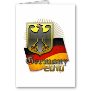 Germany FIFA World Cup 2010 Greeting Cards