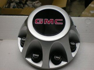17 Inch OEM GMC HD 8 Lug Silver Painted REAR Center Cap Hubcap Wheel Cover, 2008 2009 2010 # 9597536 8076 Sierra Van 3500 Pickup Truck DRW Dually Automotive