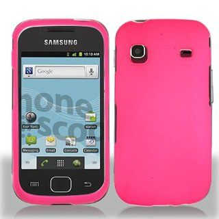 Hot Pink Hard Cover Case for Samsung Repp SCH R680 Cell Phones & Accessories