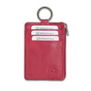 RFID Blocking Secure Wallet Mini with Key Ring