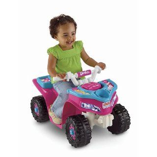 Power Wheels Fisher Price Barbie Lil Trail Rider ATV Girls Sport Quad Toys & Games