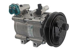 Auto 7 701 0181 Air Conditioning (A/C) Compressor For Select Hyundai Vehicles Automotive