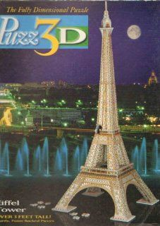 Puzz 3D Eiffel Tower 703 Pieces Toys & Games