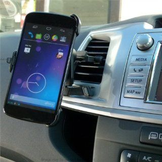 'Easy Fit' Car / Vehicle Dedicated Air Vent Mount for LG Google Nexus 4  E960 Cell Phones & Accessories