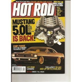 Hot Rod April 2010 Various Books