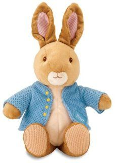 "The World of Beatrix Potter Nursery Peter Rabbit, 11"" Plush Stuffed Animal by Kids Preferred Toys & Games"
