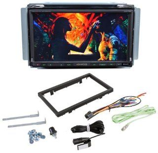 "Kenwood DDX719 6.95"" WVGA double DIN Navigation/DVD Receiver, Built in Bluetooth (A2DP), Rear USB for iPhone/iPod and Android, Pandora App Ready, SiriusXM Ready, And, Garmin iPhone App Support.  Vehicle Dvd Players"
