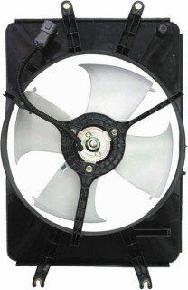 QP H718P b Acura MDX Replacement AC A/C Condenser Cooling Fan/Shroud Assembly Automotive