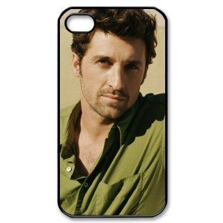 Patrick Dempsey popular star Lightweight Case for iPhone 4/4s Hard Phone Cover Case Cell Phones & Accessories