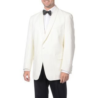 Adolfo Mens Wool Shawl Collar Dinner Jacket Blazer