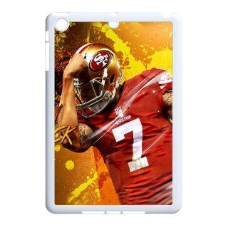 NFL San Francisco 49ers Colin Kaepernick Ipad Mini Case Durable Case Cover black&white Cell Phones & Accessories