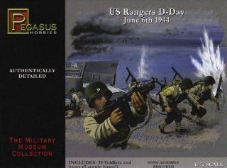 Pegasus Hobbies 1/72 D Day US Rangers Nor'44 PGH7351 Toys & Games