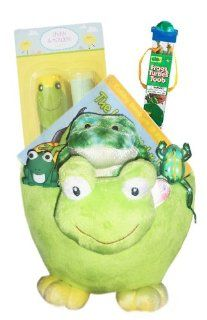 Frog Lover's Gift Basket   Perfect for Easter, Birthdays, Christmas, or Other Occasion Toys & Games