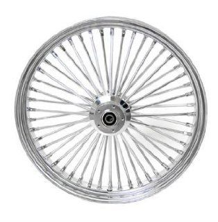 DNA Specialty Inc. Front Mammoth 52 Fat Spoke Wheel 21X3.50 for Harley Davidson 2008 2013 FXD (B.L.C) Single Disc Street Bob ABS Models Automotive