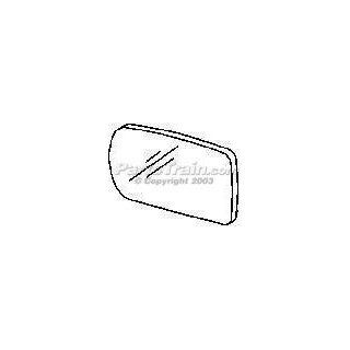 MIRROR GLASS bmw 740IL 740 il 95 01 740I 740 i 750IL 750 il view lh Automotive