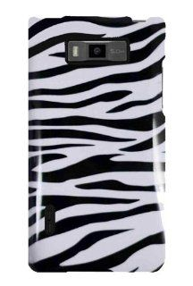 Graphic Case for LG Splendor US730   Black/White Zebra (Package include a HandHelditems Sketch Stylus Pen) Cell Phones & Accessories