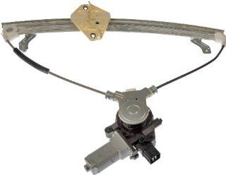 Dorman 748 046 Acura TSX Front Driver Side Power Window Regulator with Motor Automotive