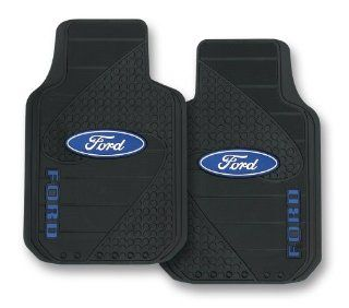 Ford Factory Style Trim To Fit Molded Front Floor Mats   Set of 2 Automotive
