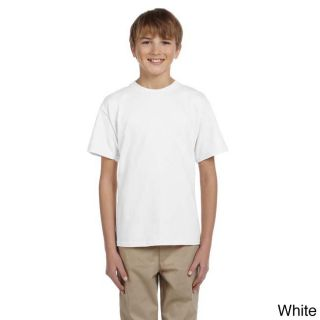 Fruit Of The Loom Fruit Of The Loom Youth Heavy Cotton Hd T shirt White Size L (14 16)