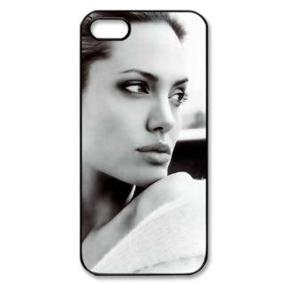 Iphone5/5s Covers Angelina Jolie personalized case Cell Phones & Accessories