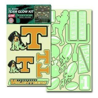 Tennessee Volunteers UT NCAA Lil Buddy Glow In The Dark Decal Kit  Sports Fan Wall Decor Stickers  Sports & Outdoors