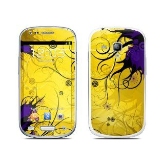 Chaotic Land Design Protective Decal Skin Sticker (High Gloss Coating) for Samsung Galaxy S III (Galaxy S3) Mini GT i8190 Cell Phone Cell Phones & Accessories