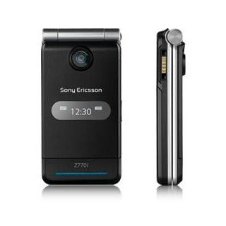 Sony Ericsson Z770i Graphite Black GSM Unlocked Tri band Phone Cell Phones & Accessories