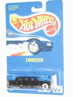 Hot Wheels   Limozeen   Collector #225   164 Scale Car Replica   Metalflake Black Body color. Toys & Games
