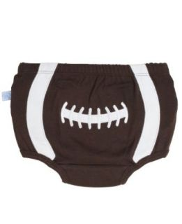 RuggedButts Baby Boys Sports Themed Football Diaper Cover Infant And Toddler Bloomers Clothing