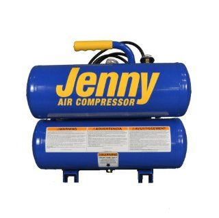 Jenny Compressors AM780 HC4V 2 HP 4 Gallon Tank 115 Volt, Electric Hand Carry Compressor   Automotive Air Compressors