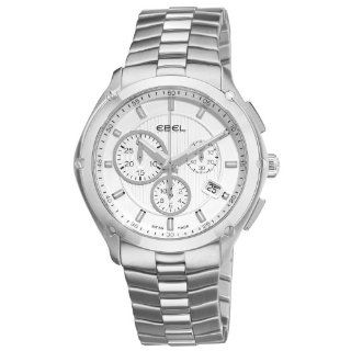 Ebel Men's 9503Q51/163450 Classic Sport Silver Chronograph Dial Watch Ebel Watches