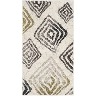 Safavieh Porcello Ivory/ Brown Rug (2 X 37)